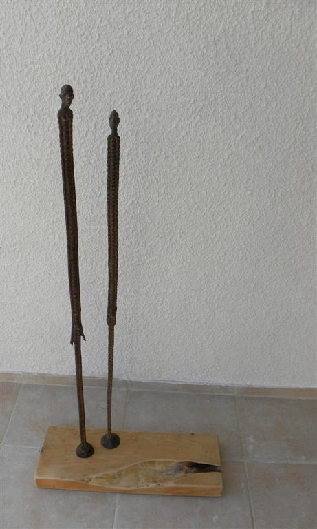 bronze filiforme couple 2